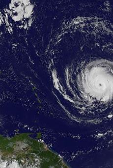 The Florida Keys are being evacuated as Hurricane Irma approaches with 180 mph winds