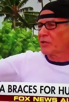 Florida man gives brutally thorough answer to whether or not he's worried about Hurricane Irma