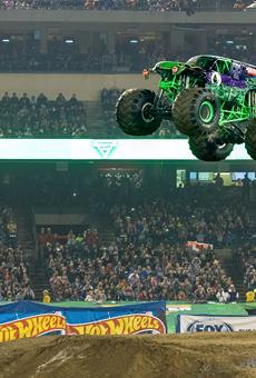Monster Jam returns to Camping World Stadium this January
