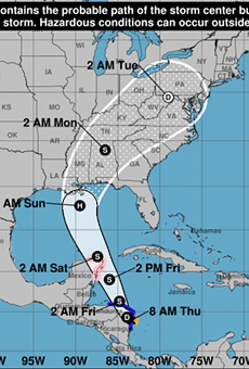 Florida's Gulf Coast keeps an eye on Tropical Storm Nate