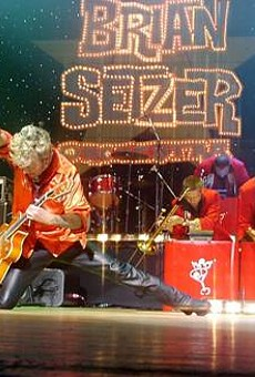 Brian Setzer Orchestra to play Christmas concert in Orlando