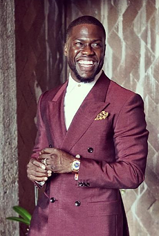 Kevin Hart brings his 'Irresponsible Tour' to Orlando for New Year's Eve