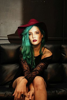 Halsey returns to Amway with electropop hooks from her latest album