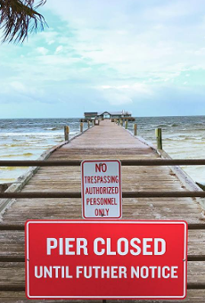 The Anna Maria Pier closed after Hurricane Irma damaged it