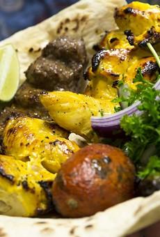 Beautifully seared kebabs rule at Shiraz Market