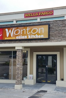 Wonton Asian Kitchen is now open in Winter Park