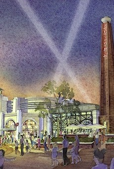 Artist rendering of Edison's at Disney Springs.