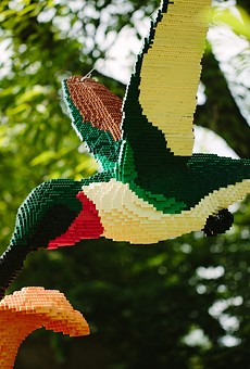 Giant LEGO animals are coming to Harry P. Leu Gardens this January