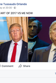 Madame Tussauds savagely roasts Disney's Donald Trump robot