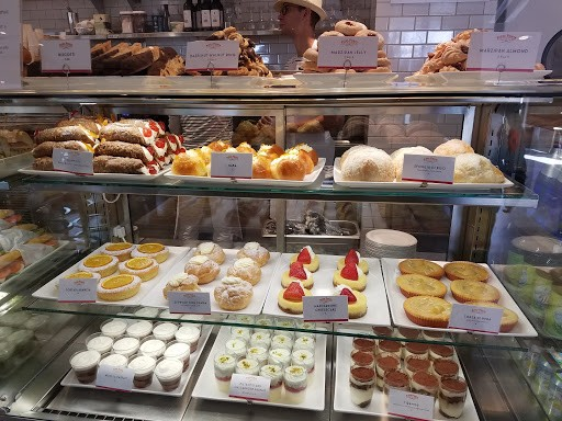 Cannoli, sfoglia, zeppole, mascarpone cheesecake and more Sicilian sweets in the case at Pizza Ponte. - HOLLY V. KAPHERR