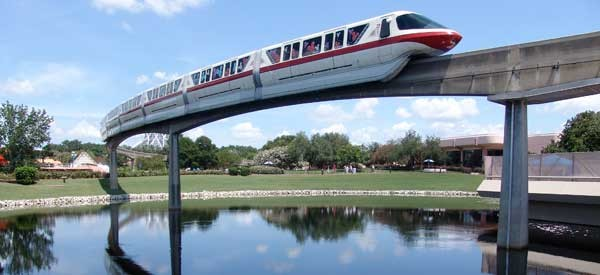 Image result for disney monorail