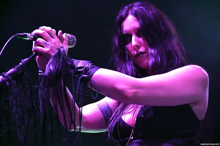 Chelsea Wolfe at Hard Rock Live - JEN CRAY