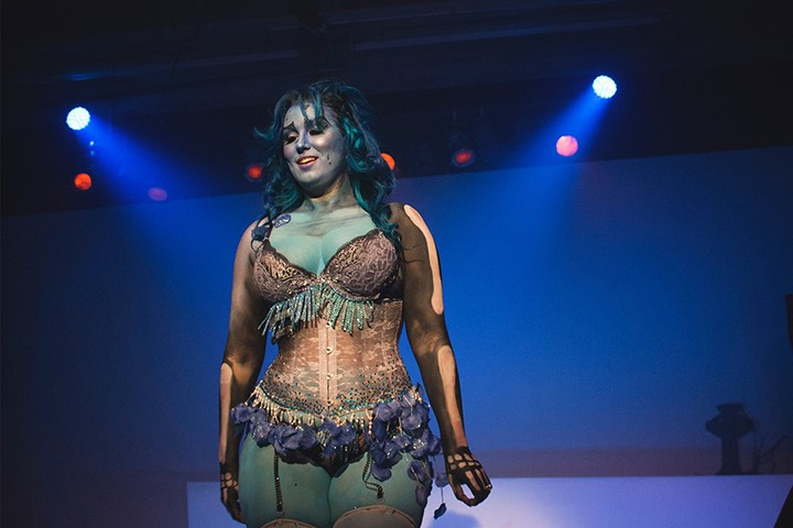 Performer Lita LaRoux, not in a Star Wars costume, but close enough - PHOTO VIA FACEBOOK