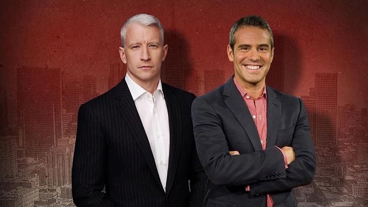 Anderson Cooper og Andy Cohen Få Personlig For AC2 At The-7625