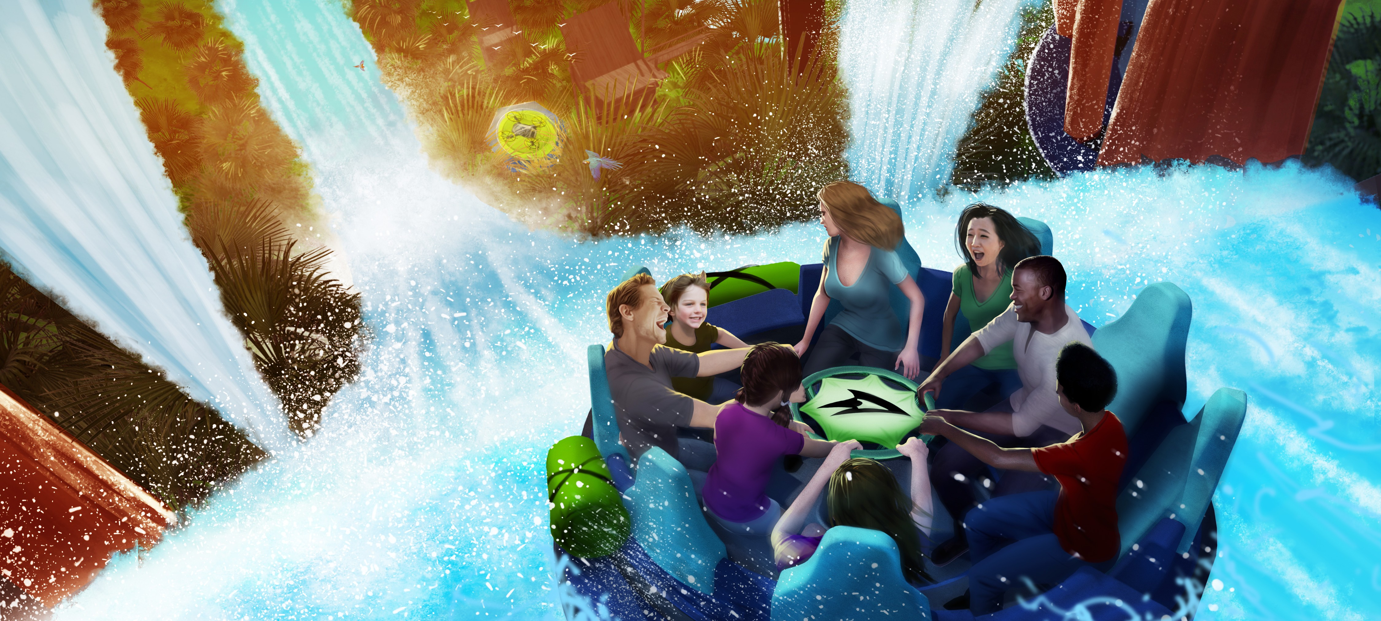 Seaworld Goes All In With New High Tech Raft Ride But Will