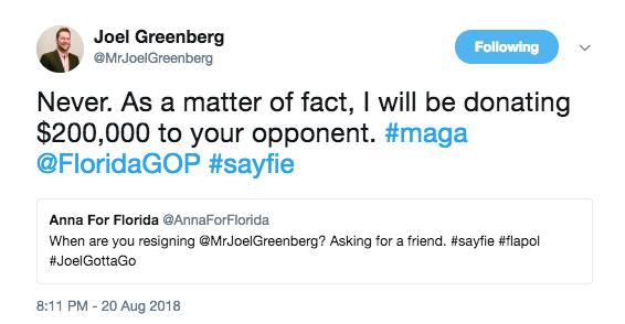 SCREENSHOT VIA JOEL GREENBERG/TWITTER