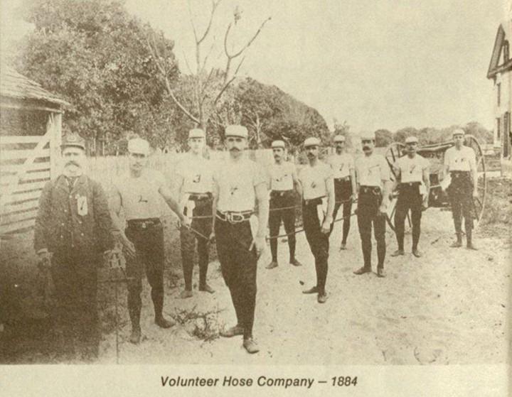 Volunteer Hose Company, 1884 - VIA ORLANDO MEMORY