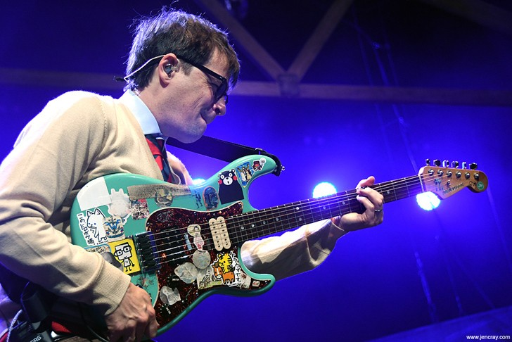 Weezer - PHOTO BY JEN CRAY FOR ORLANDO WEEKLY