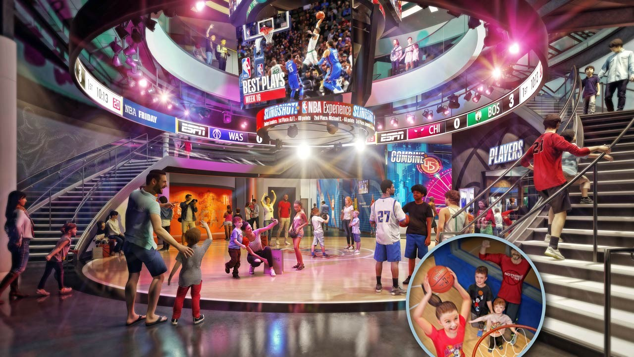100e3611a New details released on NBA Experience at Disney Springs