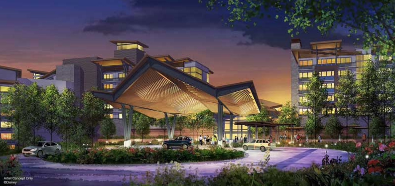 The new Reflections: A Disney Lakeside Resort DVC resort that will be located where River Country was. - PHOTO VIA THE DISNEY BLOG