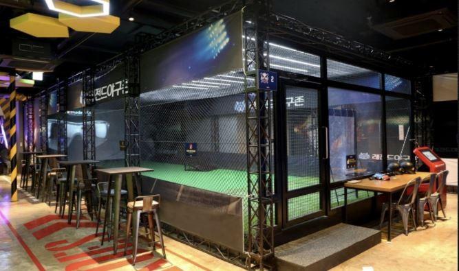 Virtual batting cages at Legends Heroes Park in Macau - IMAGE LEGENDS HEROES PARK