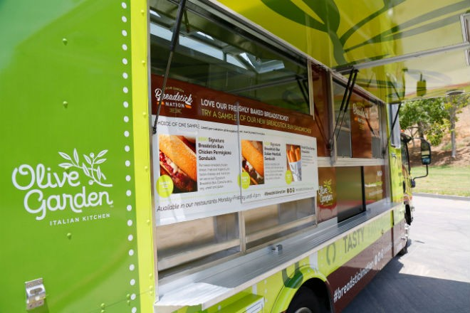 Olive Garden food truck coming to Orlando, debuting breadstick ...