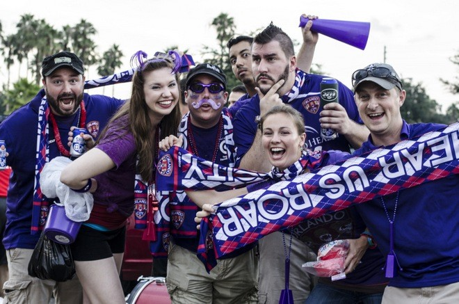 Tailgate at an Orlando City Soccer game - IAN SUAREZ
