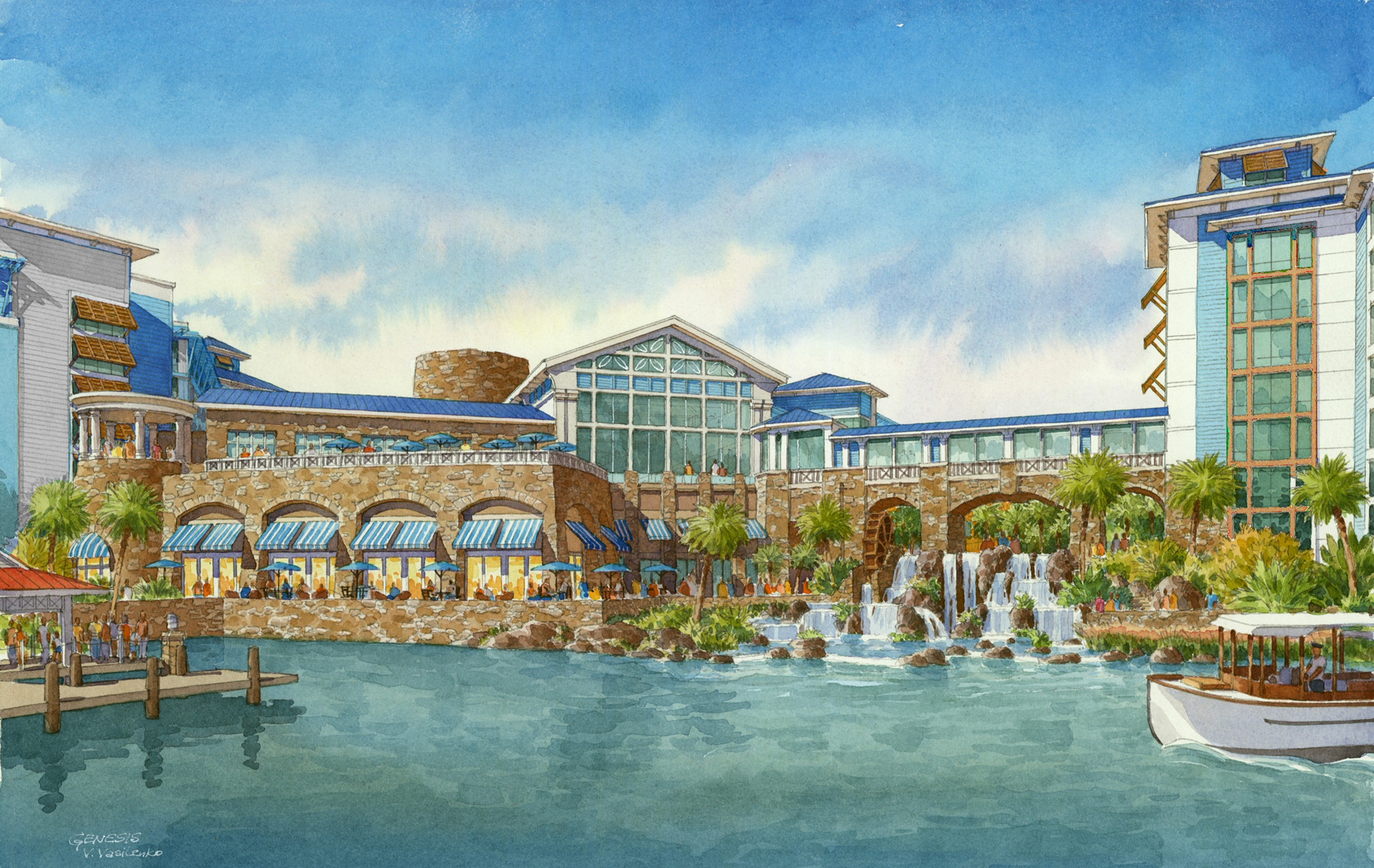 Universal Orlando releases details on new Sapphire Falls