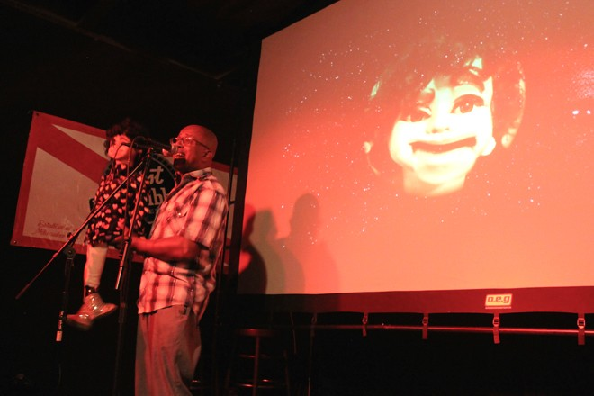 David Liebe Hart with Jonah Mociun (Th'Mole) at Will's Pub - ASHLEY BELANGER