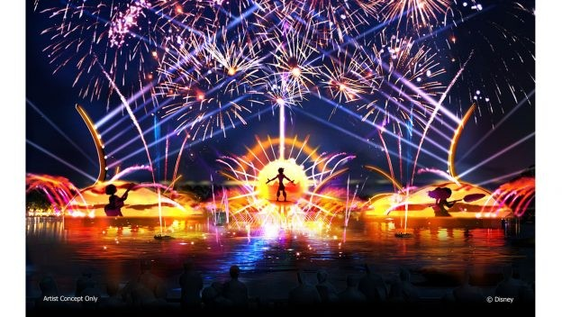 Concept art for the new Epcot nighttime spectacular - PHOTO VIA DISNEY PARKS BLOG