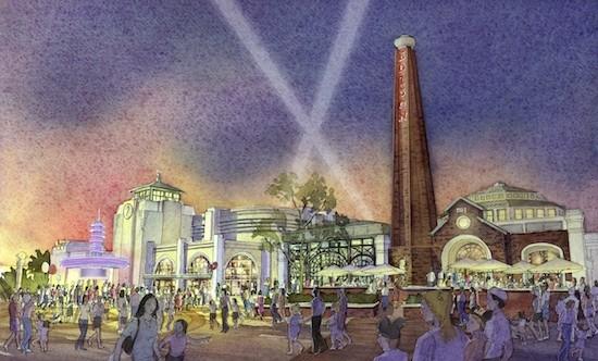 Artist rendering of Edison's at Disney Springs. - PHOTO VIA DISNEY