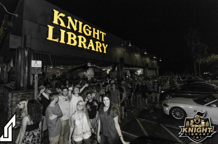 Knight Library, No. 1 on the 50 Best College Bars in America - PHOTO VIA THE DAILY MEAL
