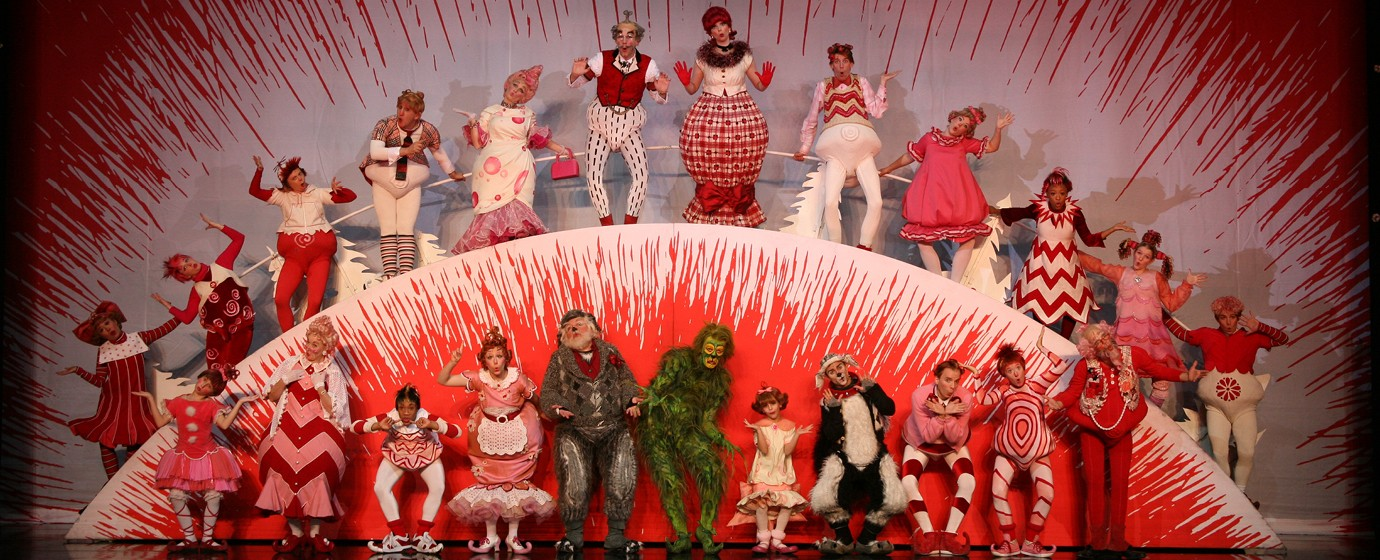 photo via dr phillips center - How The Grinch Stole Christmas 2014