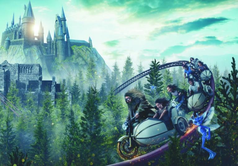 Резултат с изображение за Hagrid's Magical Creatures Motorbike