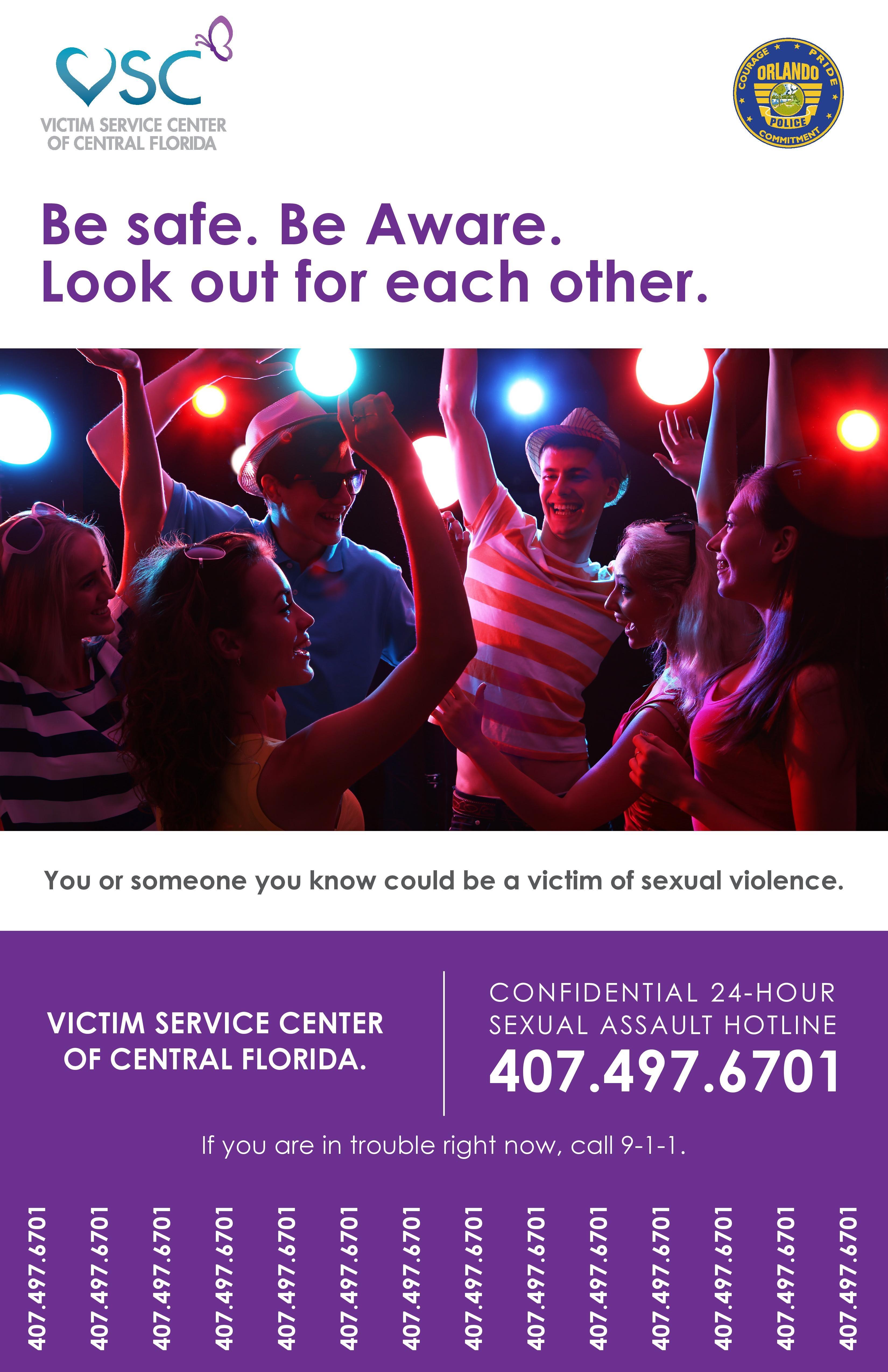 Poster via Orlando Police Department