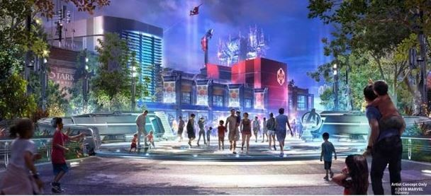 The new Marvel-themed land heading to Disney California Adventure - IMAGE VIA DISNEY