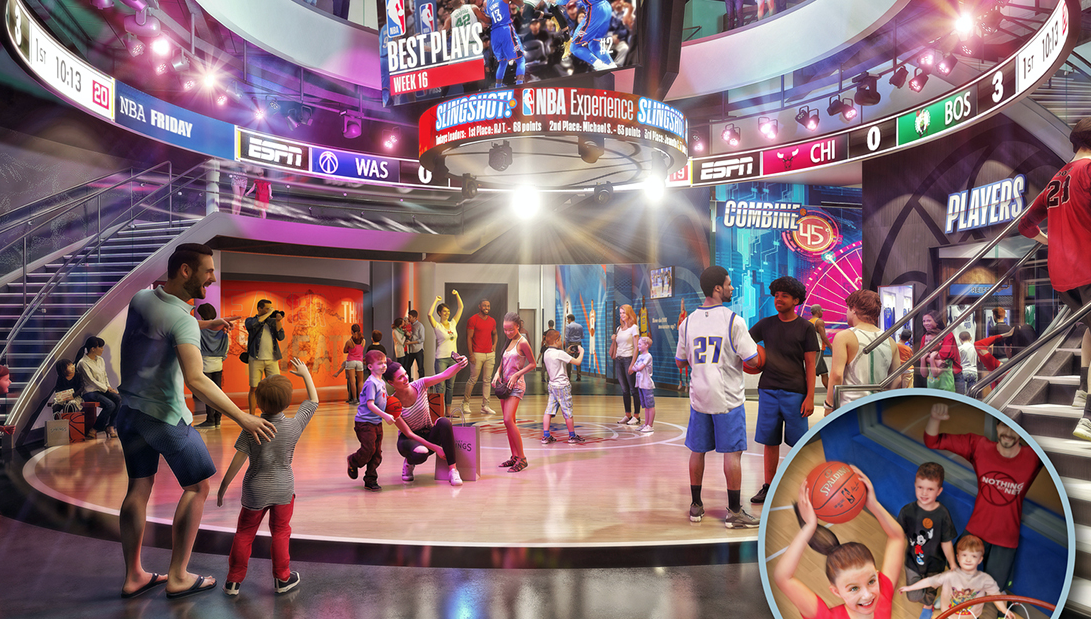 NBA Experience at Disney Springs will open Aug  12 | Blogs