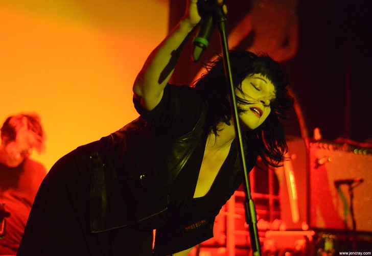Lydia Lunch's Retrovirus at the Abbey - JEN CRAY