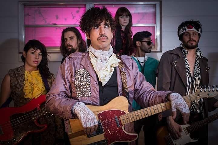 Not Prince & The Revolution - IMAGE VIA GERALD PEREZ