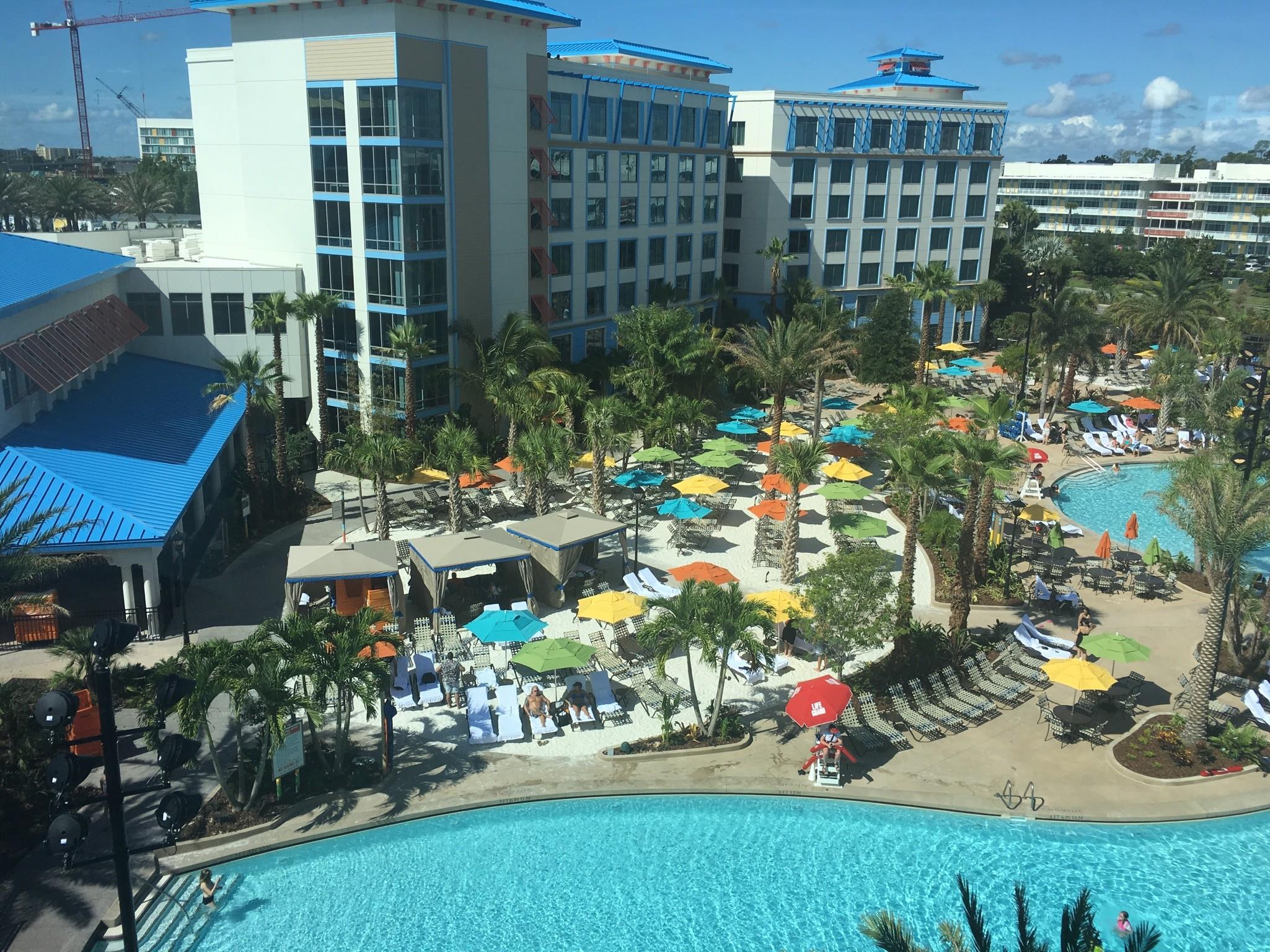 Universal Orlandos new Loews Sapphire Falls Resort is now