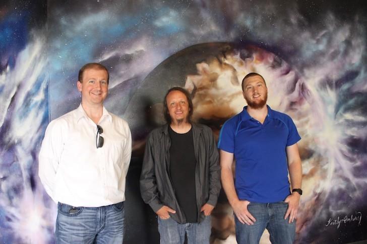 Christopher Meyer, David Maynard, Zachary Heylmun - PHOTO COURTESY JARLEENE ALMENAS