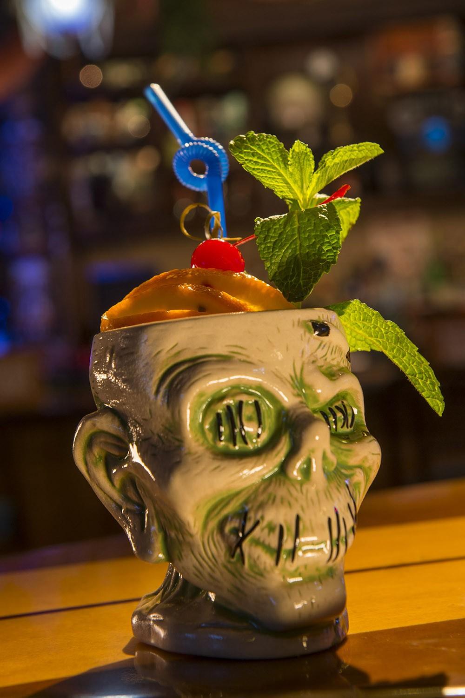 Best Tiki Drink Shrunken Zombie Head At Trader Sam S