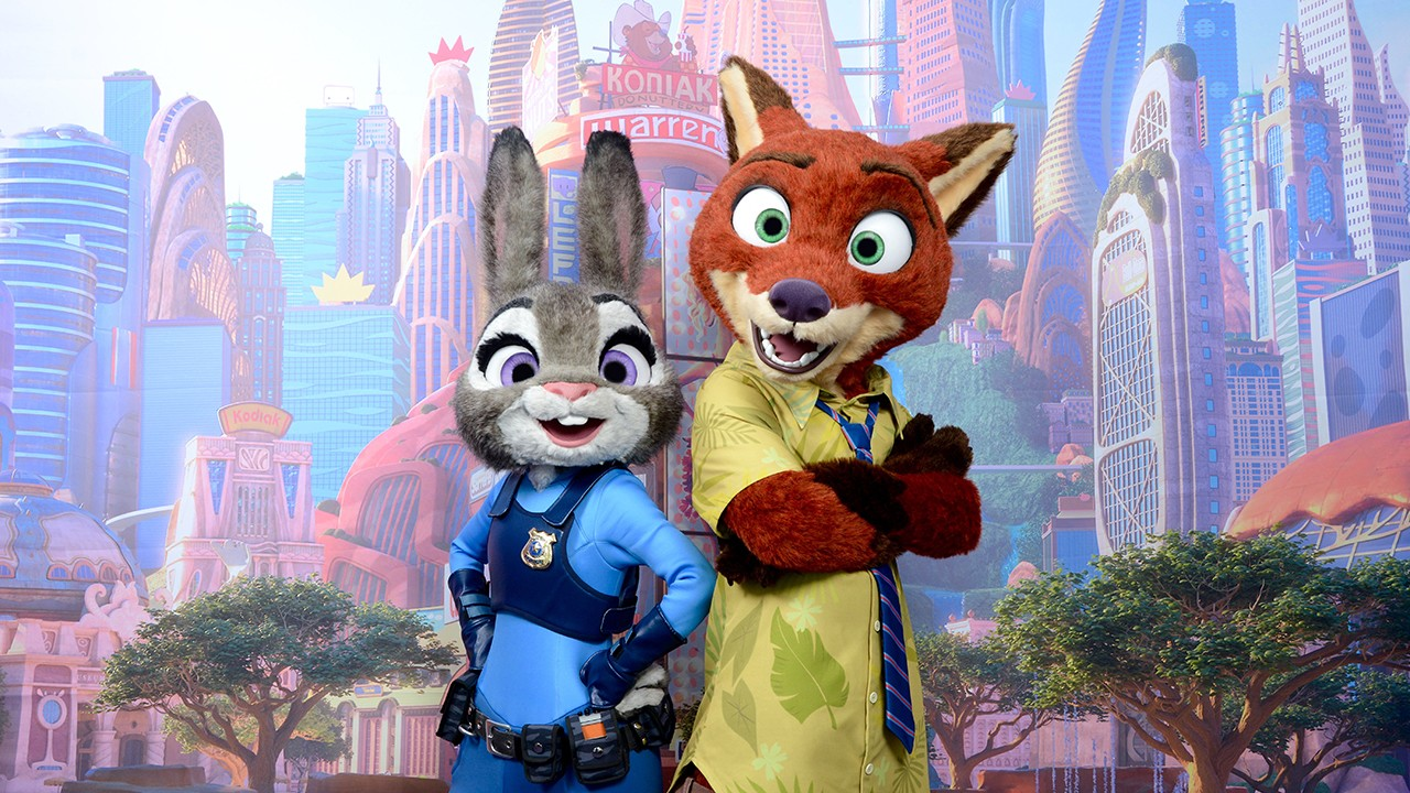 Disney world finally gets a zootopia meet and greet 8 months photo via disney parks blog kristyandbryce Image collections