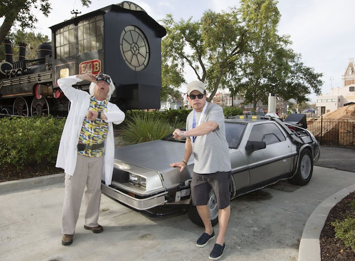 """Wait a minute Doc, uh, are you telling me you built a time machine ... out of a DeLorean?"" -  Marty McFly - PHOTO VIA UNIVERSAL STUDIOS"