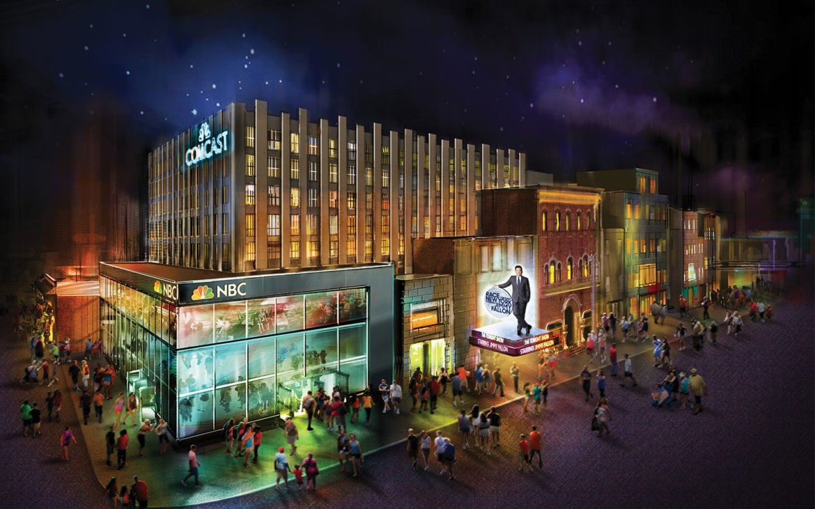 Image result for jimmy fallon ride building universal