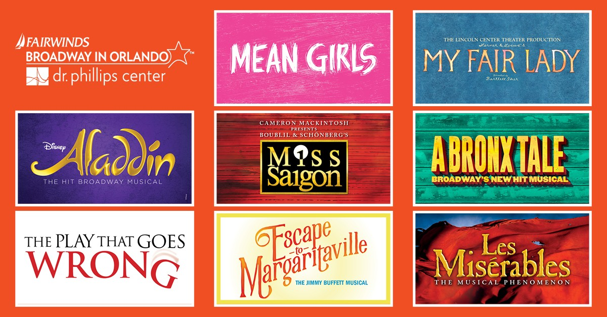 Orlando's Dr  Phillips Center announces 19 new titles, ticket