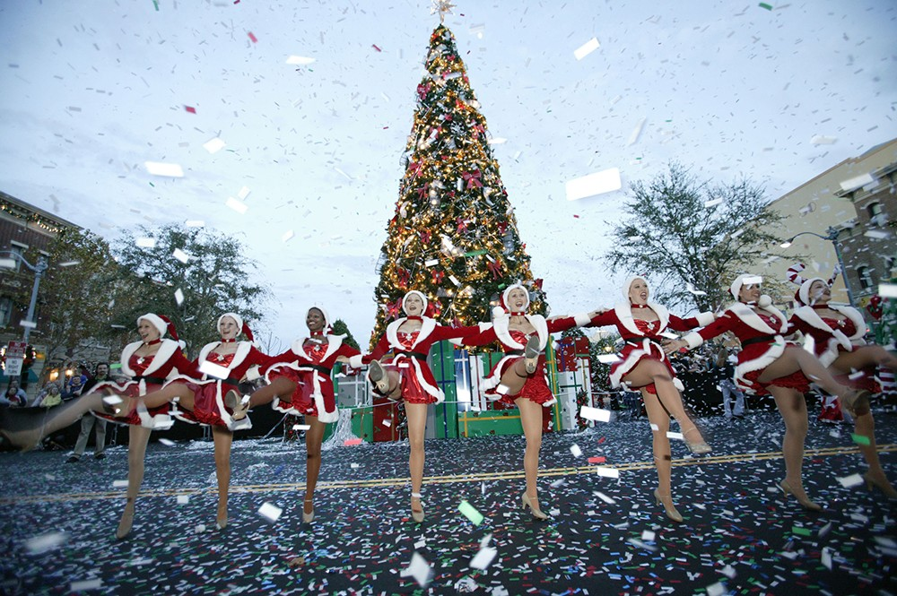 Singing Christmas Tree Orlando.Every Holiday Event Happening In Orlando Through December
