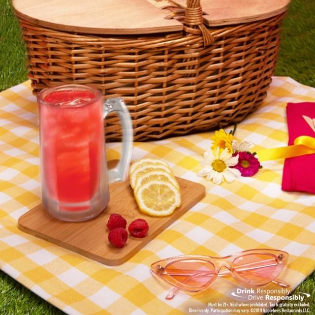 Orlando-area Applebee's restaurants are pouring $1 vodka raspberry lemonades all month
