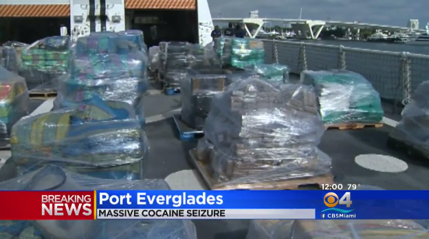 Coast Guard, Canada Navy seize 26 tons of cocaine in Pacific