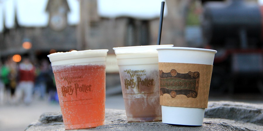Image result for butterbeers from wizarding world